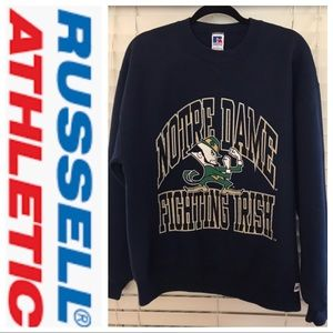 "VNT Norte Dame ""Fighting Irish"" Sweatshirt Sz L"